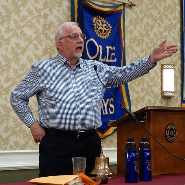 Club meeting april 16th 2015 rotary club of salem for Howell s motor freight